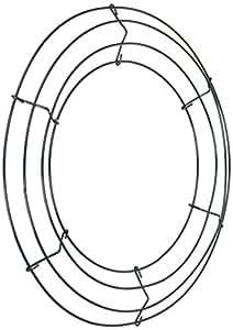 """Wire Wreath Frame 12""""-Green"""