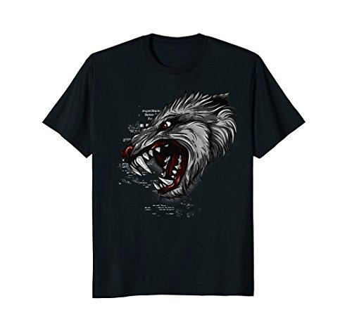 Werewolf Shirt Werewolf For Teeth Mask Costume  sc 1 st  SaveMoney.es & Wolf tooth the best Amazon price in SaveMoney.es