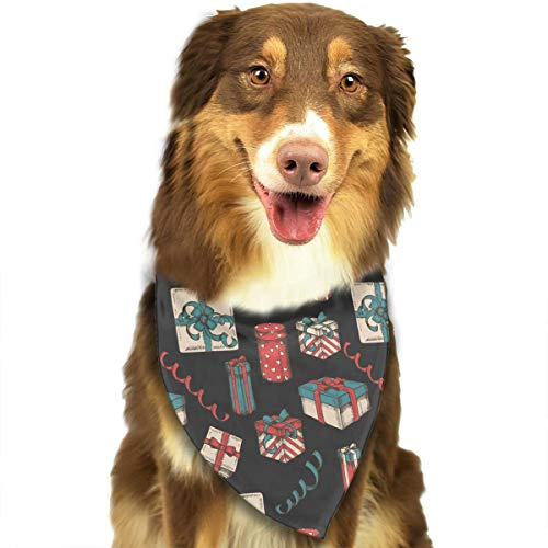 Ascot Package - CWWJQ88 Gifts and Packages (3) Pattern Pet Dog Bandana Triangle Bibs Scarf - Easy to Tie On Your Dogs & Cats Pets Animals - Comfortable and Stylish Pet Accessories