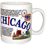 Chicago Mug - Collage, Chicago Mugs, Chicago Coffee Mugs, Chicago Souvenirs