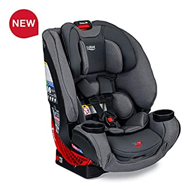 Britax One4Life ClickTight All-in-One Car Seat - 10 Years of Use - Infant, Convertible, Booster - 5 to 120 Pounds - SafeWash Fabric, Drift