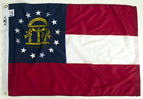 State of Georgia Flag (10'x15′) For Sale
