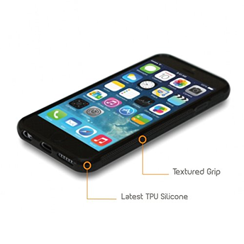 Coque 'bois rustique' Étui Housse Apple iPHONE 6 / 6S en silicone TPU