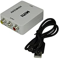 MyCableMart HDMI Digital Converter to Composite Video Left/Right Analog Audio