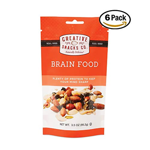 Top 5 creative snacks co brain food