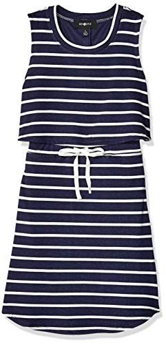 Amy Byer Big Busy Girl Popover Knit Dress,