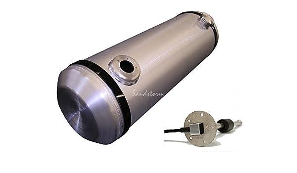 OFF ROAD 3//8 NPT 10X40 Center Fill Spun Aluminum Gas Tank 13.5 Gallon
