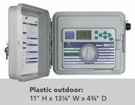 Hunter I-Core IC-600PL-18 18 Station Irrigation Controller 120V 230V 240V by Hunter (Image #3)