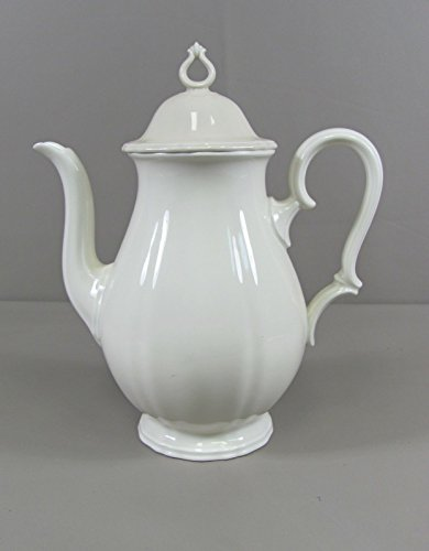 (Rosenthal China CHIPPENDALE-CREAM Coffee Pot with Lid Excellent! )