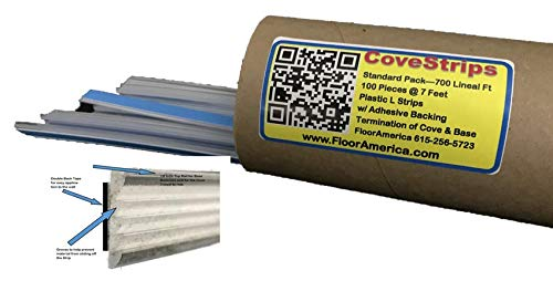 CoveStrips for Cove & Base Termination 700 Lineal Feet