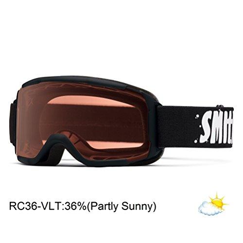 Smith Optics Daredevil Junior Series Youth Snocross Snowmobile Goggles Eyewear - Black/RC36/ Medium/Large