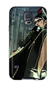 RobertWRay Scratch-free Phone Case For Galaxy S5- Retail Packaging - Anarchy Reigns Warrior Sci-fi Anime Girl