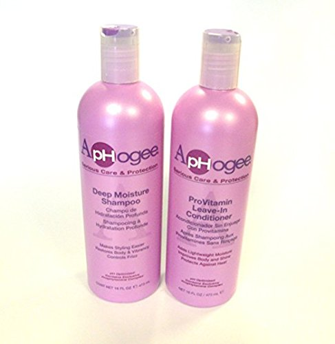 Aphogee Deep Moisture Shampoo & ProVitamin Leave Conditioner