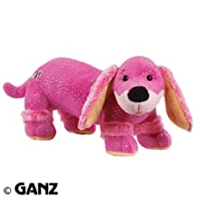 Webkinz Plush Stuffed Animal Dazzle Dachshund (Pink)