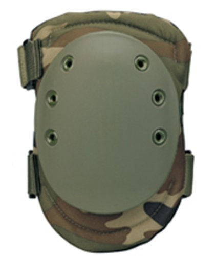Rothco Tactical Protective Knee Pads, Woodland Camo Tactical Swat Knee Pads