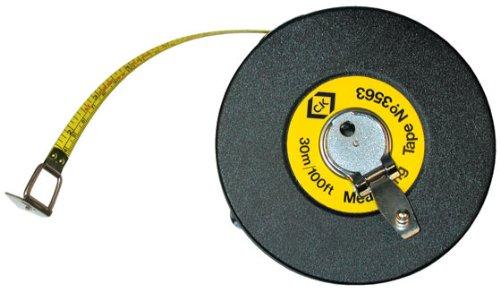 C.K T3563 100 Mètre à ruban nylon avec dérouleur de 30 m