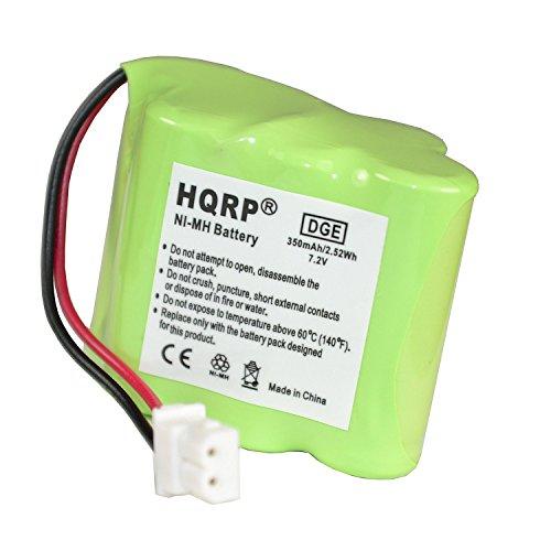 HQRP Transmitter Battery for Dt-Systems Redhead RH2 1220V, RH2 1250B Dog Training Collar Transmitter + Coaster ()
