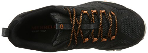De Fst 2 Randonnée Merrell noir Noir Basses Moab Orange Homme Gtx Chaussures qHBTA4n