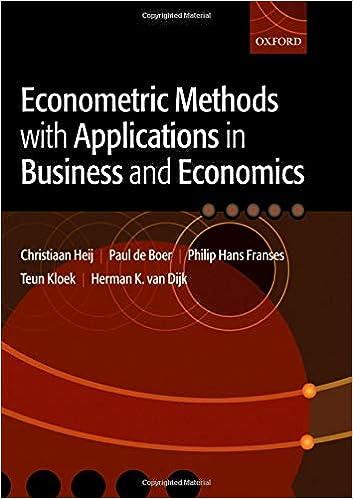 Econometric methods