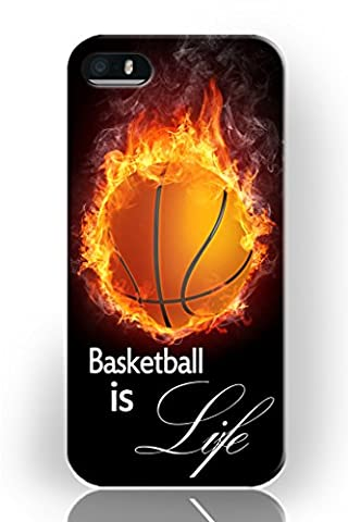 iPhone 5 Se Case, iPhone 5s Case Hard Case Back Cover Protector Skin For Iphone 5 5s -- Basketball is (You Cant Sit With Us Phone Case)