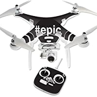 Skin For DJI Phantom 3 Standard – Epic | MightySkins Protective, Durable, and Unique Vinyl Decal wrap cover | Easy To Apply, Remove, and Change Styles | Made in the USA