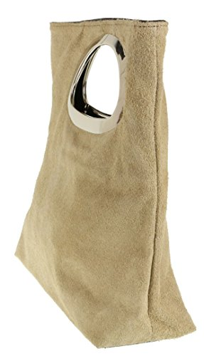 Girly mujer Cartera de mano para Handbags beige qrwFqv8an