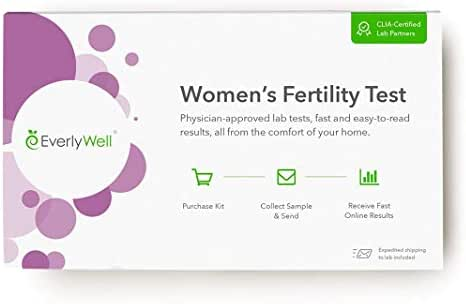 EverlyWell - at-Home Women's Fertility Test - Test The Hormones That Influence Normal Ovarian Function (Not Available in MD, NY, NJ, RI)