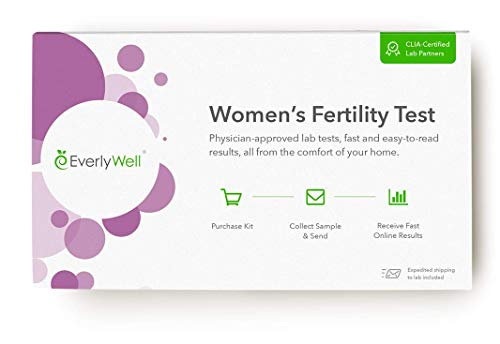 EverlyWell - at-Home Women's Fertility Test - Test The Hormones That Influence Normal Ovarian Function (Not Available in NY, NJ, RI)