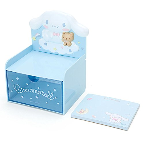 Cinnamoroll Desktop Chest With Memo Pad: Blue