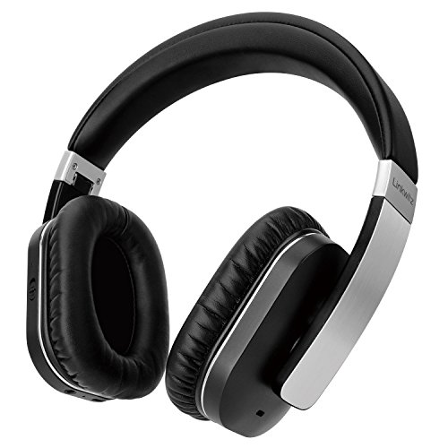 Linkwitz F5A Bluetooth Headphone, Active Noise Cancelling Wireless Over-Ear Headset with Bluetooto 4.1, Built-in Mic, Hi-Fi Stereo, Atp-X
