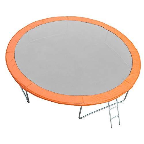 JUMP4FUN cojín Universal de Acolchado en Polyethylene para trampolín 13ft–400cm–Naranja Outsidefun