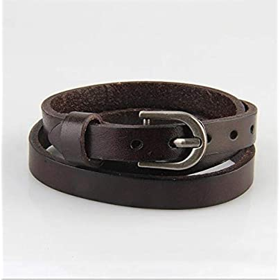 ZUOZUO Leather Wristband 4-Color Multi-Layer Bracelet Belt Bracelet Men S And Women S Men S Small Accessories Bag Buckle Bracelet Estimated Price £19.99 -
