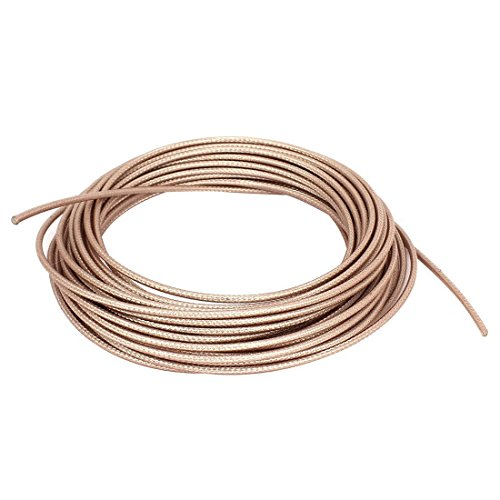 SODIAL RG316 Coax Coaxial Cable Lead Low Loss RF Connector Wire 10M (Coax Lead)