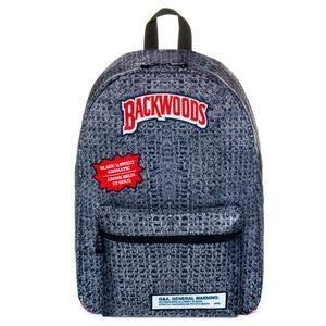 Backwoods Backpack Book Bag Black N' Sweet Aromatic Backpack