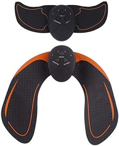 Perfeclan 2 Set Opgeladen ABS Stimulator Buikspier Toner Riem Training Sticker voor Mannen Vrouwen Arm Been Bil Trainer Home Gym Fitnessapparatuur