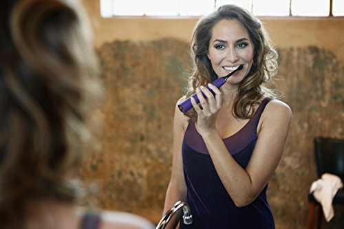 41Xa1Fp0MPL - Philips Sonicare DiamondClean Classic Rechargeable Electric Toothbrush, Amethyst HX9371/71