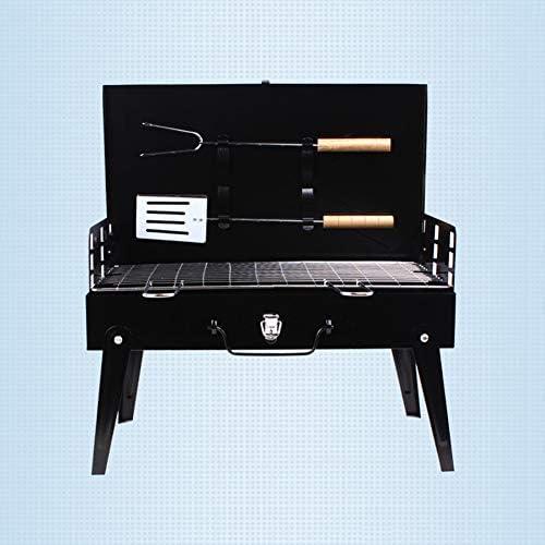 CETLFM Barbecue Extérieur Ménage Pliant Grill, Multi-Fonction Portable Barbecue Au Charbon Grill.