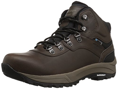 Hi-Tec Men's Altitude VI I Waterproof Wide Hiking Boot, Dark Chocolate, 12 2E - Leather I-tec