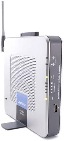 Linksys WRT54G3GV2-ST - Router (ADSL, 3,3 dBi, Plata, 350g, 0-40 °C, -20-60 °C)