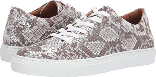 Aquatalia Women's Avery Silver Metallic Snake Print 7.5 B US ()