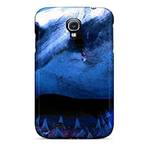 Premium Great White Shark Heavy-duty Protection Case For Galaxy S4
