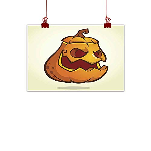 duommhome Simulation Oil Painting Halloween Scary Pumpkin Head Scarecrow Vector Illustration for Halloween Holiday Simulation Oil Painting 20