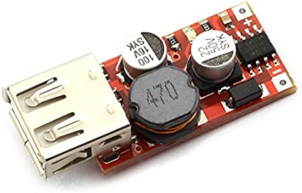 3A Mini DC-DC Buck Step Down Converter 9V 12V 24V to 5V USB Phone Charger Car