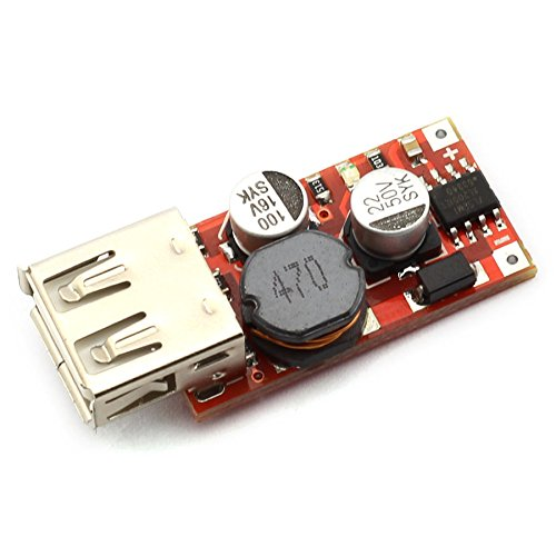 6V 36V 24V 12V to 5V 3A USB Buck Voltage Converter Regulator Power Supply Module USB Charging Step Down Voltage Module (Usb Voltage Regulator)