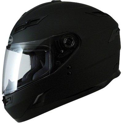 GMAX GM78 Men's Full Face Motorcycle Helmet - Flat Black / Large