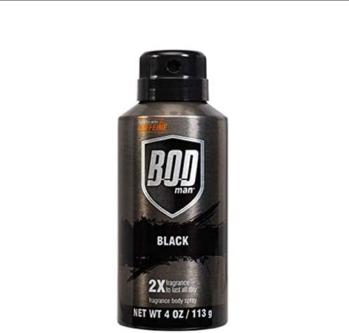 Bod Man Really Black 4 oz Deodorant Spray