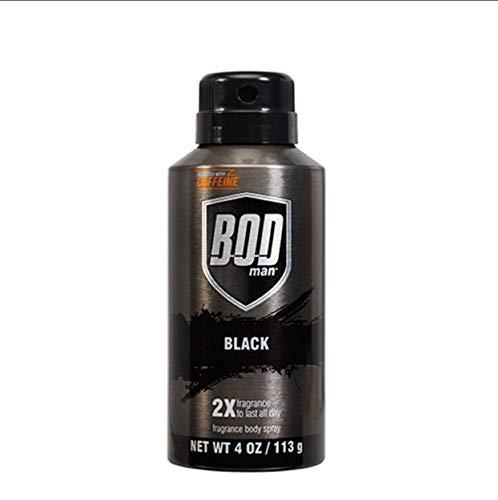 Bod Man Really Black 4 oz Deodorant Spray
