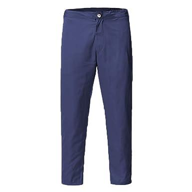 Pantalón de Traje Casuales Hombre Slim Fit Jogger Pantalones ...