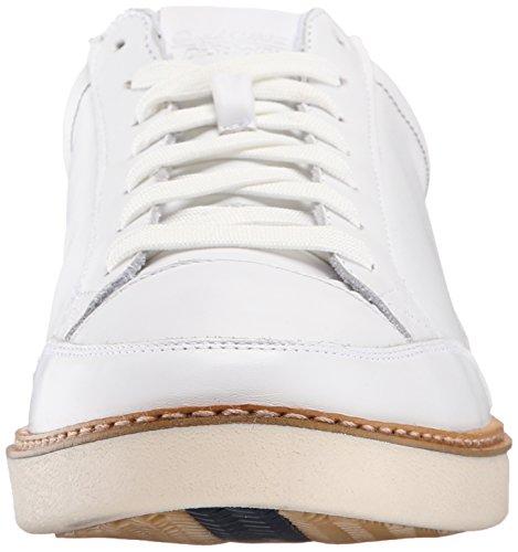 Dr. Sneaker In Pelle Bianca Da Uomo