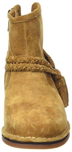Hush Puppies Charity Catelyn, Botas Para Mujer Amarillo (Camel)